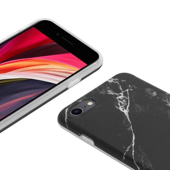 pol pl crong marble case etui iphone se 2020 8 7 czarny 69258 3