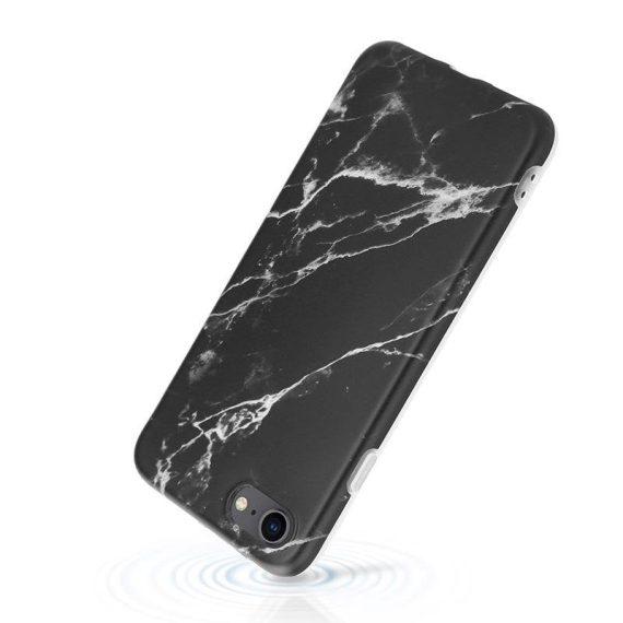 pol pl crong marble case etui iphone se 2020 8 7 czarny 69258 4