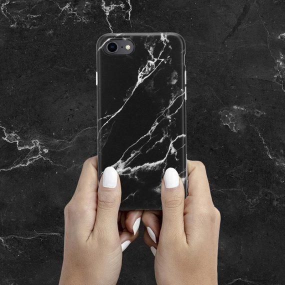 pol pl crong marble case etui iphone se 2020 8 7 czarny 69258 5