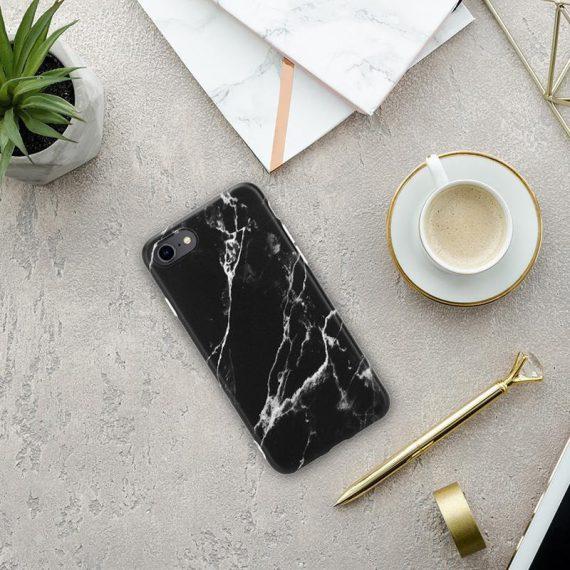 pol pl crong marble case etui iphone se 2020 8 7 czarny 69258 7