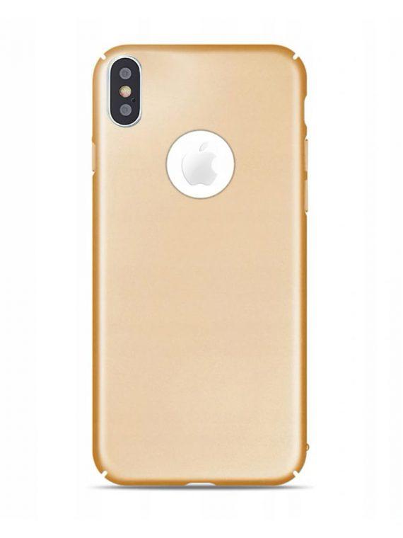 etui nakladka matt logo iphone x zloty(1)
