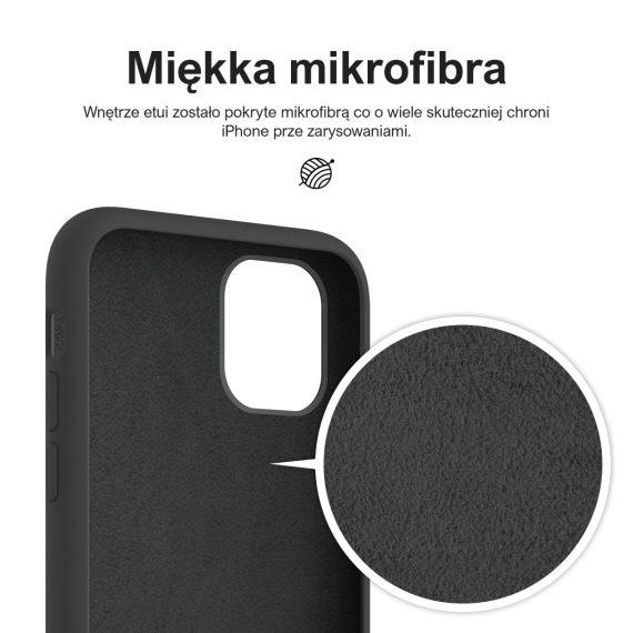 etui iphone 11 premium czarne silikonowe 11
