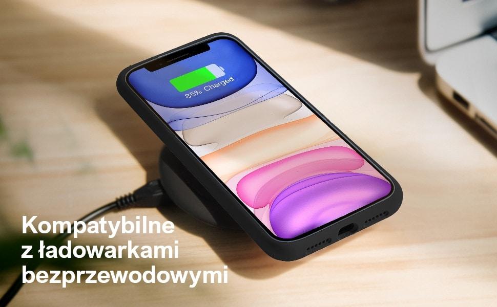 etui iphone 11 premium czarne silikonowe 13