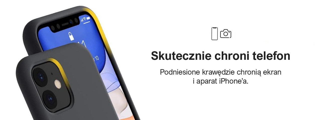 etui iphone 11 premium czarne silikonowe 8