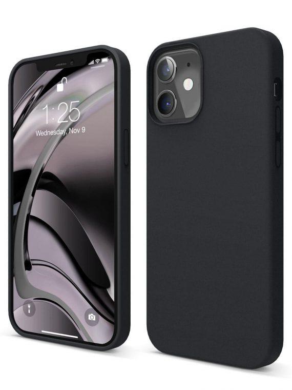 etui iphone 12 czarne matowe lux soft touch 7