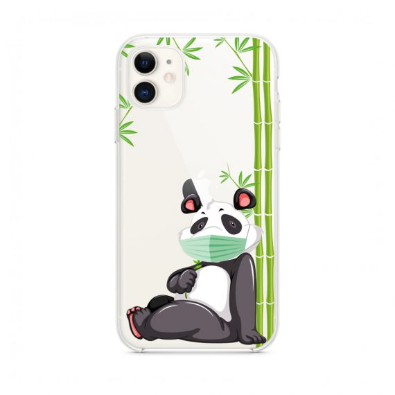 Etui do iPhone 11 z nadrukiem panda