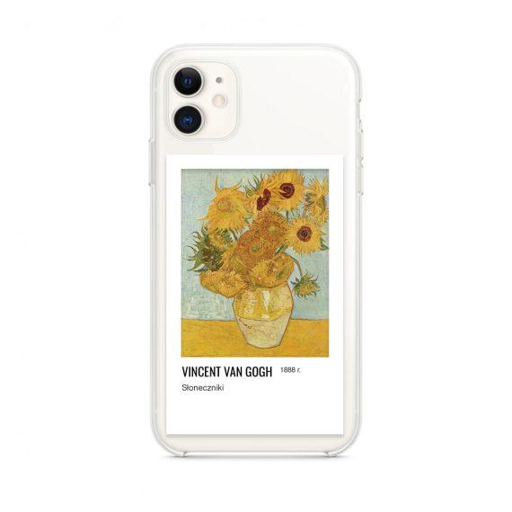 Etui do iPhone 11 z nadrukiem Van Gogh