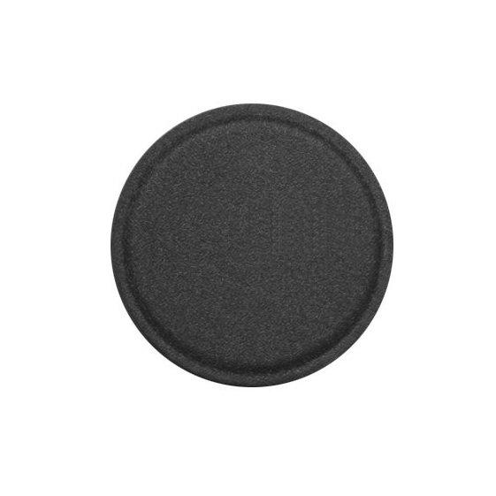 pol pl metal iron plate samoprzylepna metalowa plytka w skorzanej nakladce dla uchwytow magnetycznych 40 mm czarny 50083 1