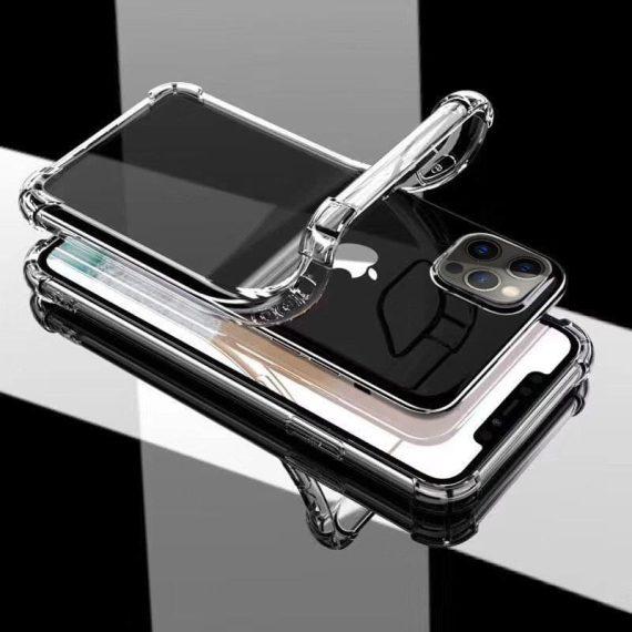 tpu chekhol epic ease s usilennymi uglami dlya apple iphone 12 pro max 67prozrachnyy transparent 145254 4