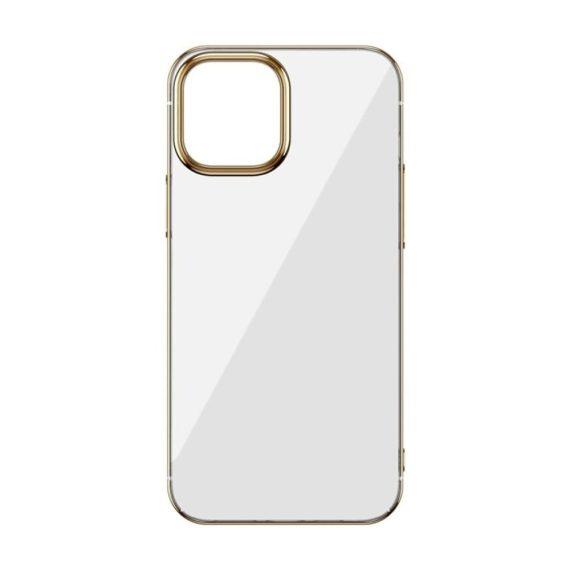 case iphone 12 pro max ze złotą ramką 6