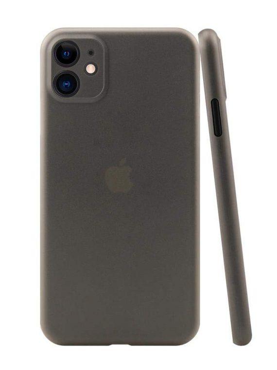 etui iphone 11 czrne matowe przezroczyste 1