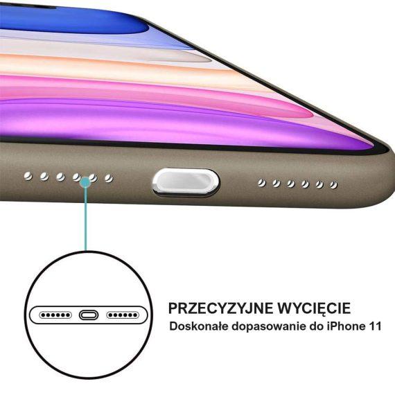 etui iphone 11 czrne matowe przezroczyste 2