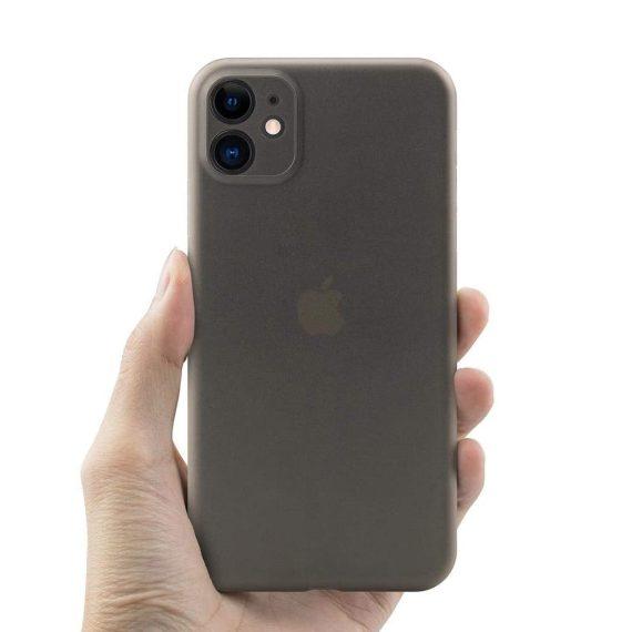etui iphone 11 czrne matowe przezroczyste 3