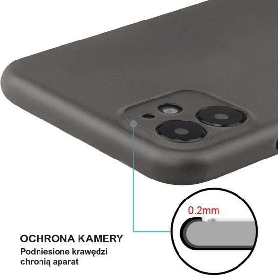 etui iphone 11 czrne matowe przezroczyste 4