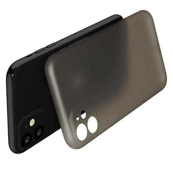 etui iphone 11 czrne matowe przezroczyste 5