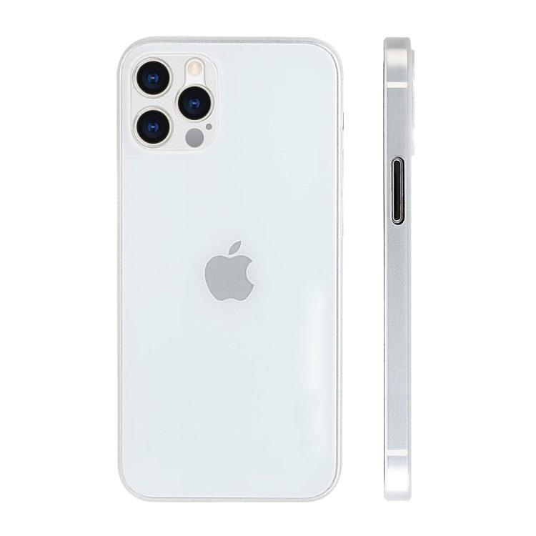etui iphone 12 pro białe matowe przezroczyste 5