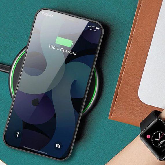 etui iphone 12 pro niebieskie matowe przezroczyste 7