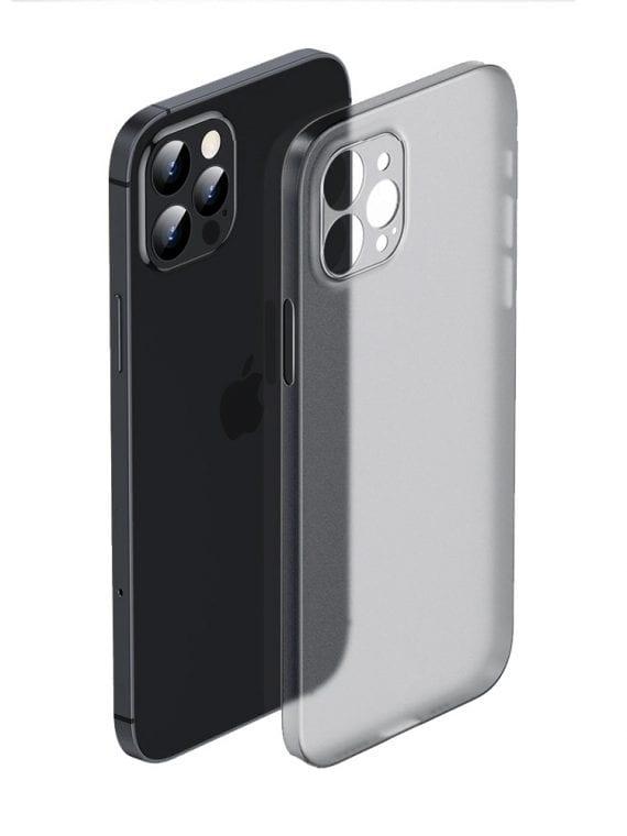 etui iphone 12 pro szare matowe przezroczyste 1