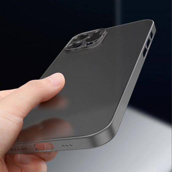 etui iphone 12 pro szare matowe przezroczyste 5