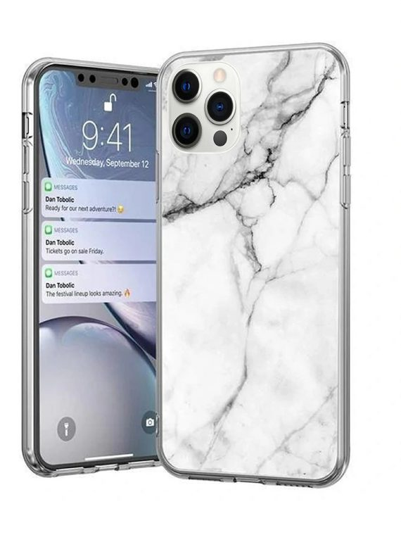 iphone 12pro marmur bialy