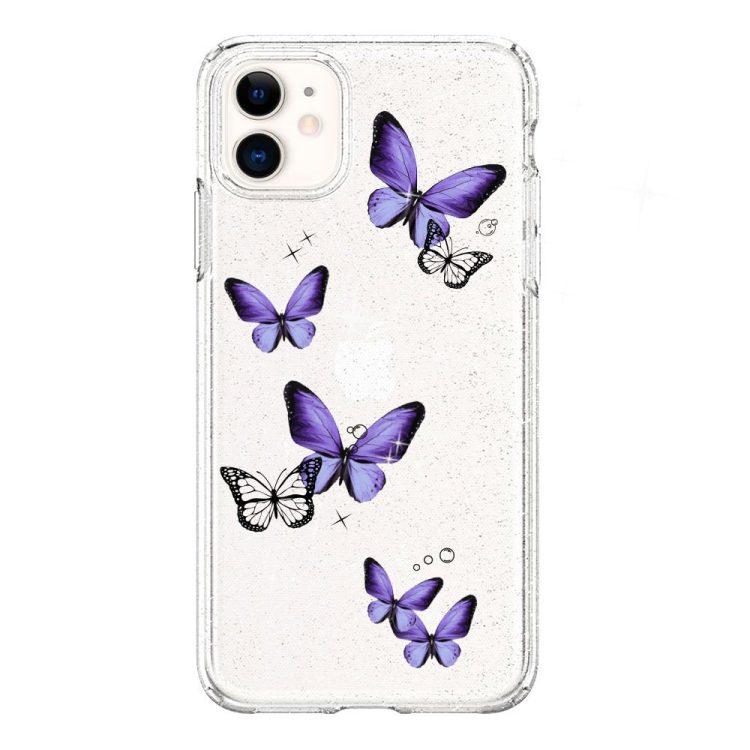 mock u iphone 11 przezrocyste glitter 1