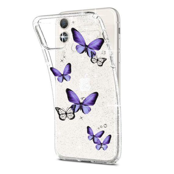 mock u iphone 11 przezrocyste glitter 2