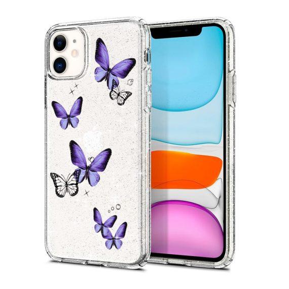 mock u iphone 11 przezrocyste glitter 3