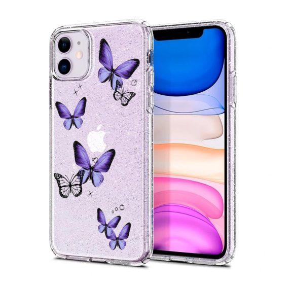 mock u iphone 11 przezrocyste glitter 6