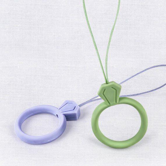 pol pl silikonowa smycz do telefonu zawieszka diament ring na palec bialy 72108 11