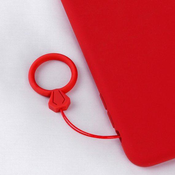 pol pl silikonowa smycz do telefonu zawieszka diament ring na palec bialy 72108 8