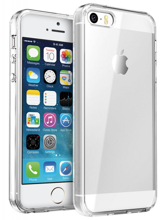 flexi gel crystal case for iphone 5s iphone se clear