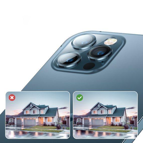 pol pl joyroom shining series szklo hartowane na caly aparat obiektyw kamere do iphone 12 pro max zloty jr pf689 71588 5