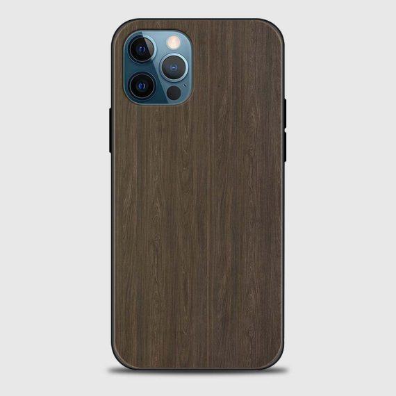 Etui do iPhone 12 Pro prawdziwe drewno – mahoń