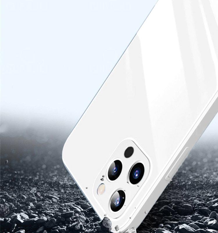 case ihphone 12 pro szklo hartowane biały kolor 3