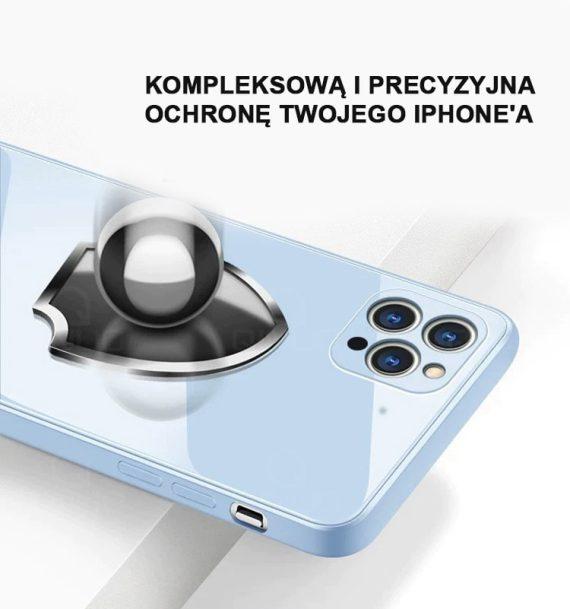 case ihphone 12 pro szklo hartowane niebieski kolor 8