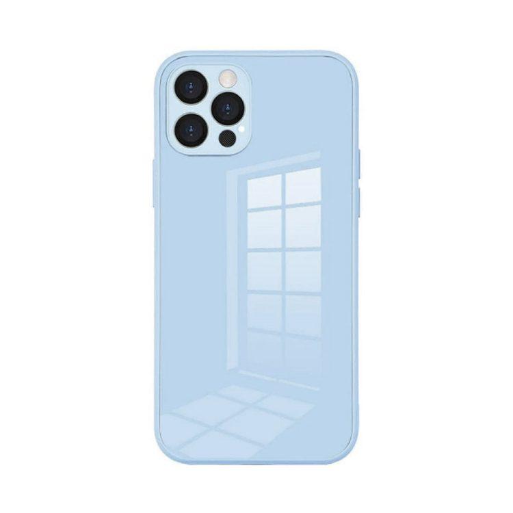 case ihphone 12 pro szklo hartowane niebieski kolor 9