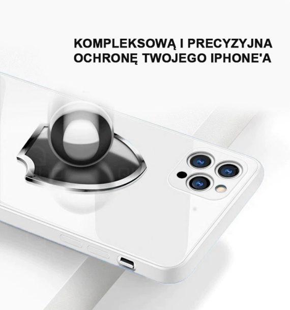 case iphone 12 proszklo hartowane etui biale 7