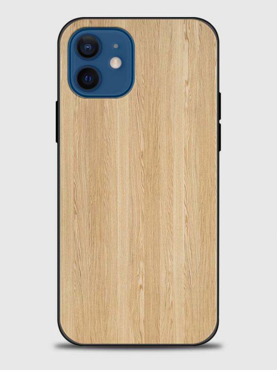 etui iphone 12 jasne drewno bambus 1