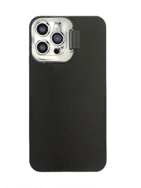 iphone12 pro klapka matowe czarne