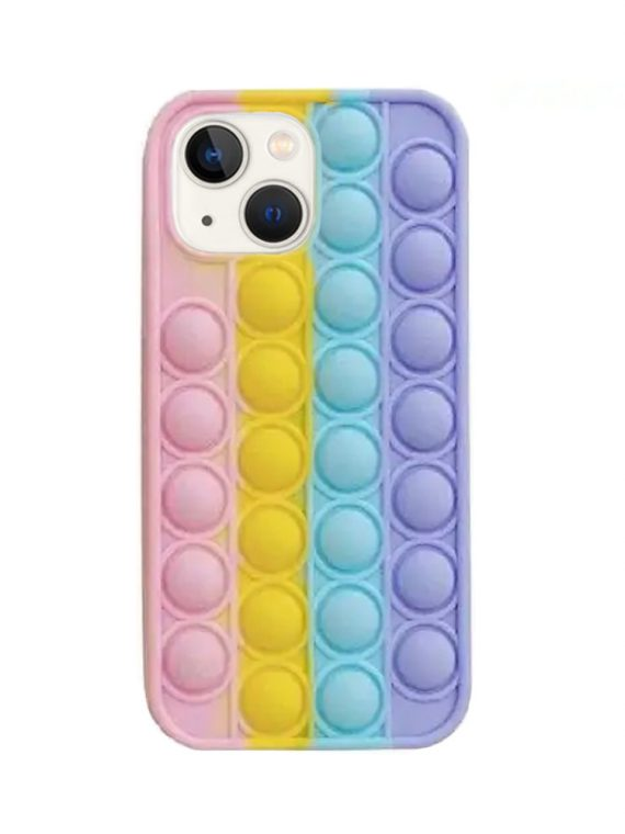 etui do iphone 13 pro bubble bąbelkowe sensoryczne antystresowe pastelowe