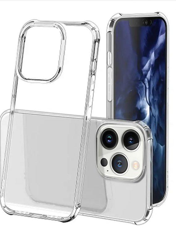 etui do iphone 13 pro przeźroczyste pancerne anti shock ze wzmocnionymi krawędziami